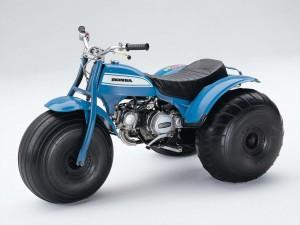 Année 1970 : Quad Honda ATC90
