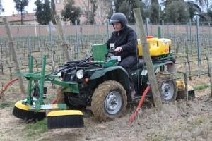 Quad agricole utilitaire