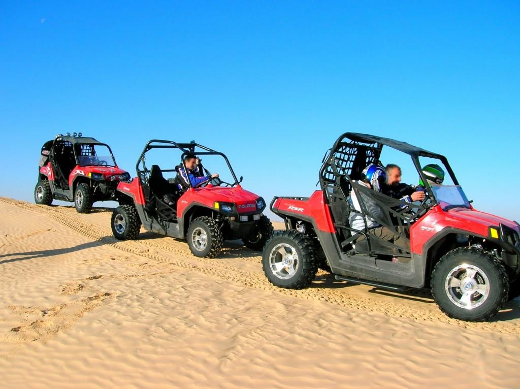 Une randonnée en quad au milieu du désert Tunisien