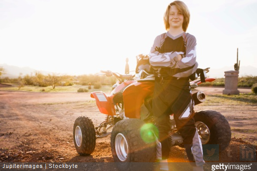 Petit tour d'horizon des protections enfant pour faire du quad en toute sécurité.
